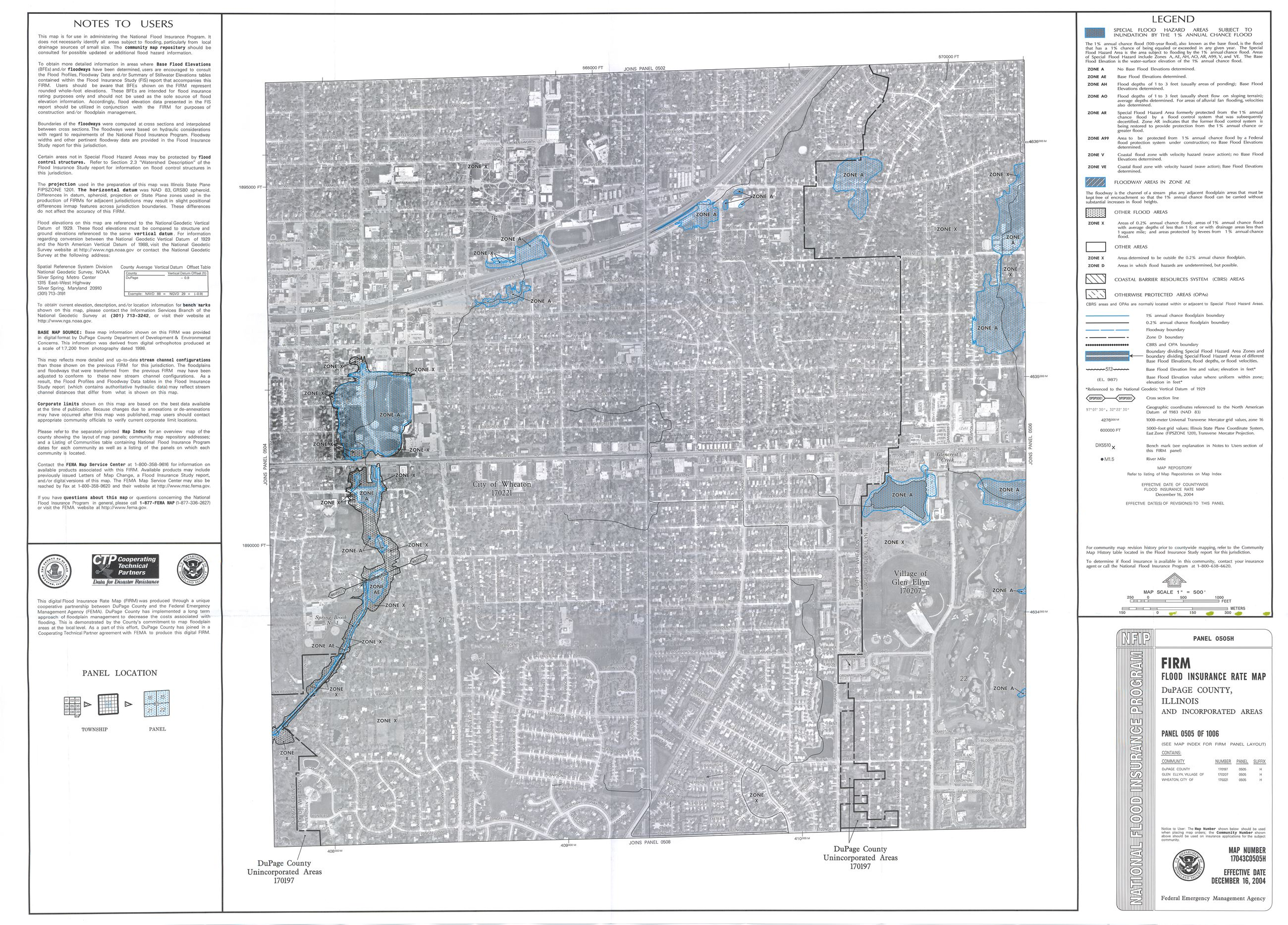 2004 FEMA Maps Updated